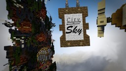 City to the Sky Minecraft Project