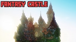 Epic Fantasy Skycastle [ + Download ] Minecraft Map & Project