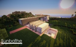 Sunbathe by MarcoPolo84 // Guest House // Pool // 1.8 Minecraft Map & Project