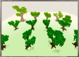 12x Custom trees free for you(-: By Katariawolf Minecraft Map & Project