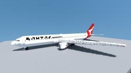 Boeing 767-300ER Qantas Minecraft Map & Project