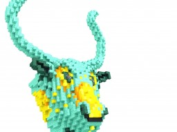 Bull Statuette - Level 30 Special - Download available. Minecraft Project