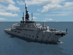 MS Brimil (Patrol Boat) + Schematic Minecraft Map & Project