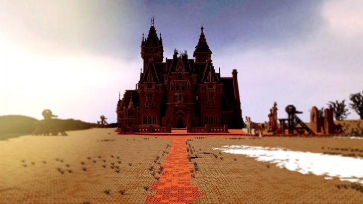 Crimson Peak Allerdale Hall Gothic Horror Minecraft Map