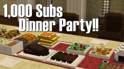 Minecraft Custom Modeling: Dinner Party Minecraft