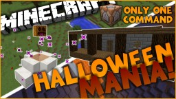 Halloween Mania in One Command l Transform Your World! Minecraft Map & Project