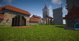 WITCHER 3 NOVIGRAD WALLS, TOWERS & GATES PACK Minecraft