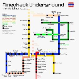 Minechack Underground (1.8.8) Minecraft Map & Project
