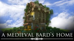 Medieval Bard's Home + download! Minecraft Map & Project