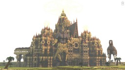 Tèh Mae'rith - The Sand Castle ! / (old build) Minecraft Project