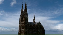 Cologne cathedral / (Kölner dom) - Scale 1:1 Minecraft