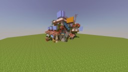 Asian Inspired Shop Minecraft Map & Project