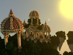 SkyBlock Spawn Minecraft Map & Project