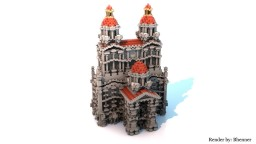 Small fantasy palace Minecraft