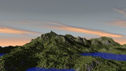 Fantasy Terrain [1,000x1,000] Minecraft
