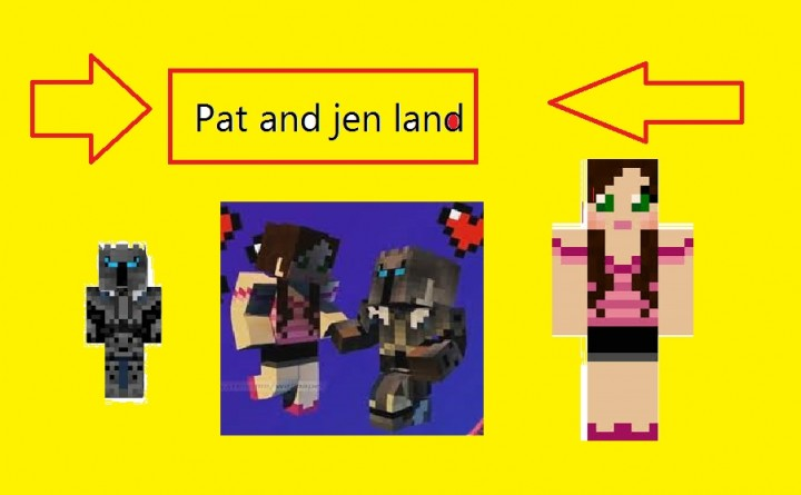 Pat and jen land popularmmos and gamingwithjen land minecraft