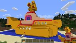 Yellow Submarine Minecraft Mod