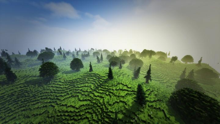 Ithilien-inspired terrain