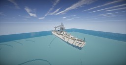 HMS Cossack | British destroyer Minecraft
