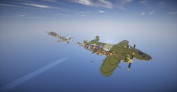 Attack on a B-25 By Mintoc Minecraft Map & Project