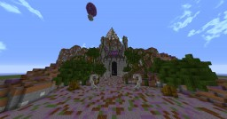 Mountain Temple of Cthulu Minecraft Map & Project