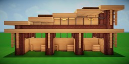 Modern Eco Village | Horse Stables 2 Minecraft Map & Project