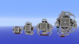 4 Slime block Vault Doors (1.9) Minecraft Map & Project