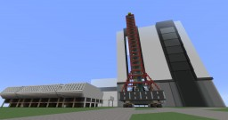 1:1 Saturn V and NASA VAB Minecraft Map & Project