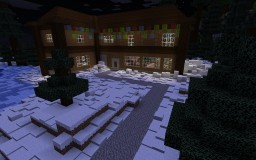 The Advanced Knine Mansion ***Christmas Theme*** Minecraft Map & Project