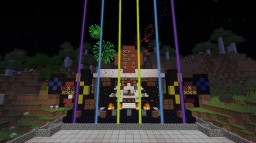 Riga Stage + Spaceship Minecraft Map & Project