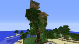 Nice Treehouse Minecraft Map & Project