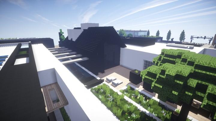 Maison Moderne G Tes Minecraft Project