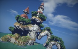 Baroque island build Minecraft Map & Project