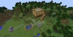 Medium house near flower forest Minecraft Map & Project