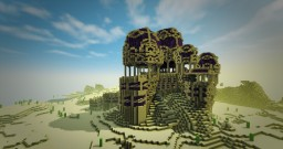 Desert Snake Temple Timelapse (DragonDance Rp showcase) Minecraft Map & Project