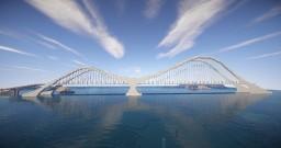 THE WAVE - Modern Suspension Bridge Minecraft Map & Project