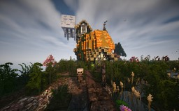 Witch Swamp Aka Pumpkin House Minecraft