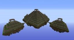 El Castillo sky pyramid Minecraft Map & Project