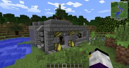 Skymare corporation outpost Minecraft Map & Project