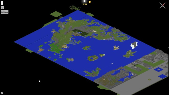 Ultima Online Remake Map Revisiting Uo Through Minecraft Eyes
