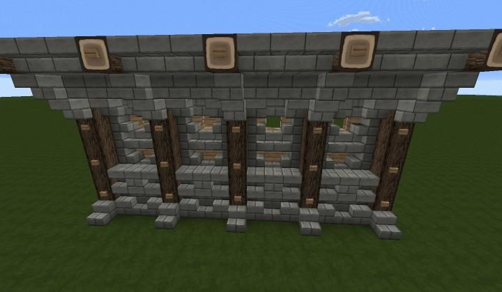 Cool Wall Designs Minecraft