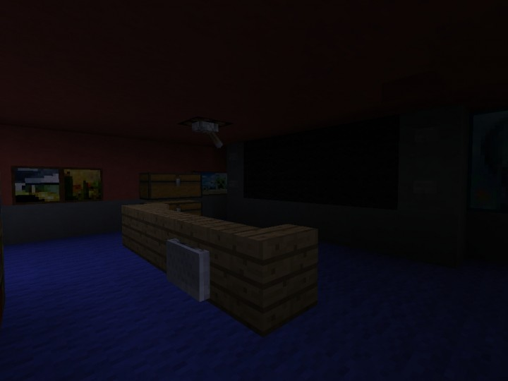 Fnaf 4 functional multiplayer map no command blocks minecraft