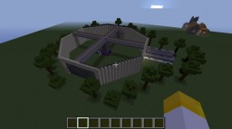 Raptor Research Arena 2.0- Sandstone, Curved, Food Generator, Much more improvements! Minecraft Map & Project