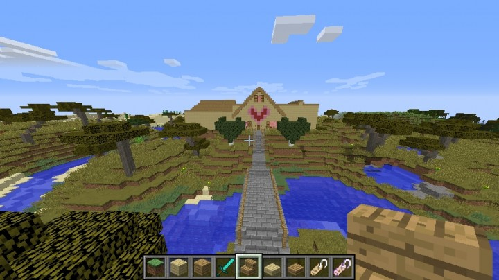 GamingWithJen House Minecraft Project - Minecraft house map download