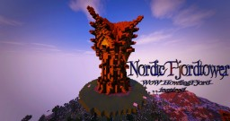 Nordic Fjordtower - World of Warcraft Howlingfjord inspired Minecraft Map & Project