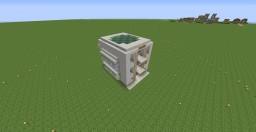 Semi-Automatic Crop Farm Minecraft Map & Project