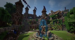 Medieval City VEYRON Minecraft
