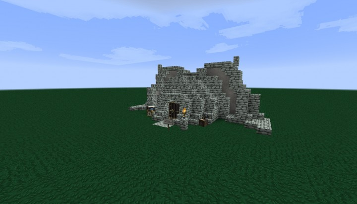 Dunmer House from Skyrim Dragonborn DLC Minecraft Project