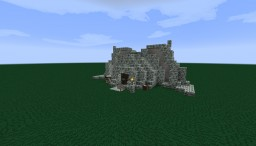 Dunmer House from Skyrim Dragonborn DLC Minecraft Map & Project