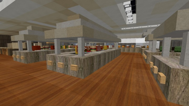Golden Corral Interior Ecs Minecraft Project